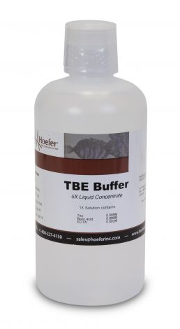 TBE Buffer, 5X Solution