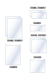 Standard Format Glass Plates
